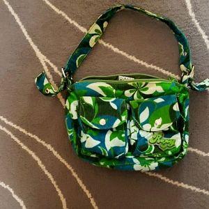 Green Roxy shoulder bag